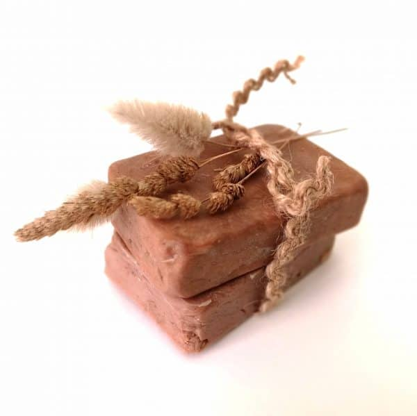 Jabón artesanal de Chocolate natural para pieles secas