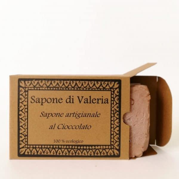 jabón natural de chocolate y cacao para pieles secas o maduras