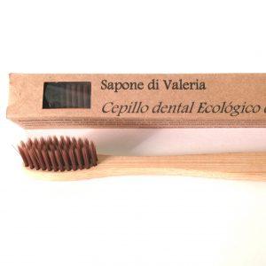 Cepillo dental de madera de bambú ecológico sin BPA