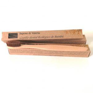 Cepillo de dientes de madera suave