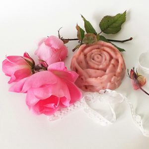Jabón Artesanal de Rosa Mosqueta natural y vegano
