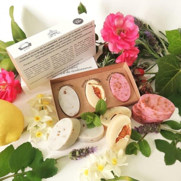 jabón natural artesanal casero para regalar en barcelona