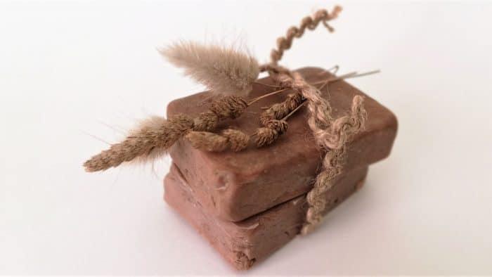 jabón natural de chocolate cacao artesanal