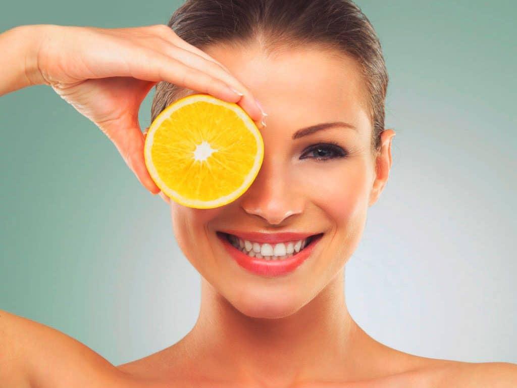 limón cabello brillante ph acido