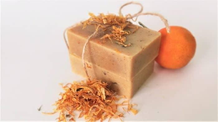 jabón natural calendula artesanal casero receta