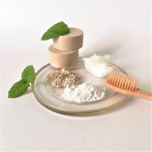 Pasta de dientes casera sin flúor