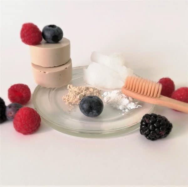 pasta dientes sólida niños casera sin flúor natural ecológica