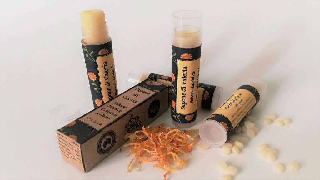 protectores labiales sin parabenos toxinas parafinas