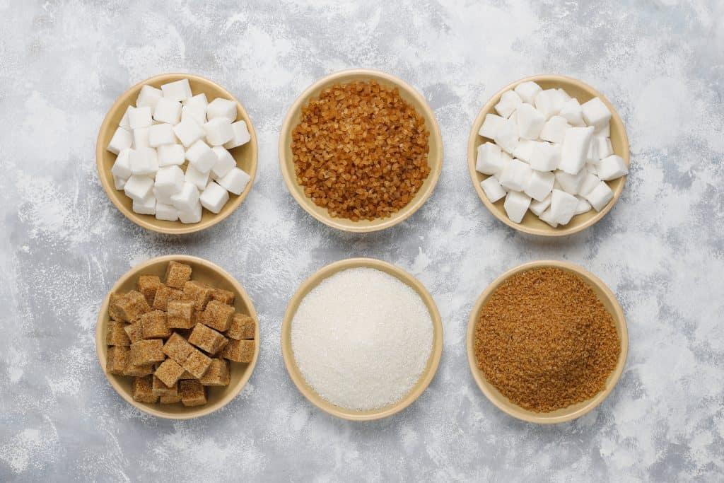 Alternativas y sustitutos azucar sanas saludables