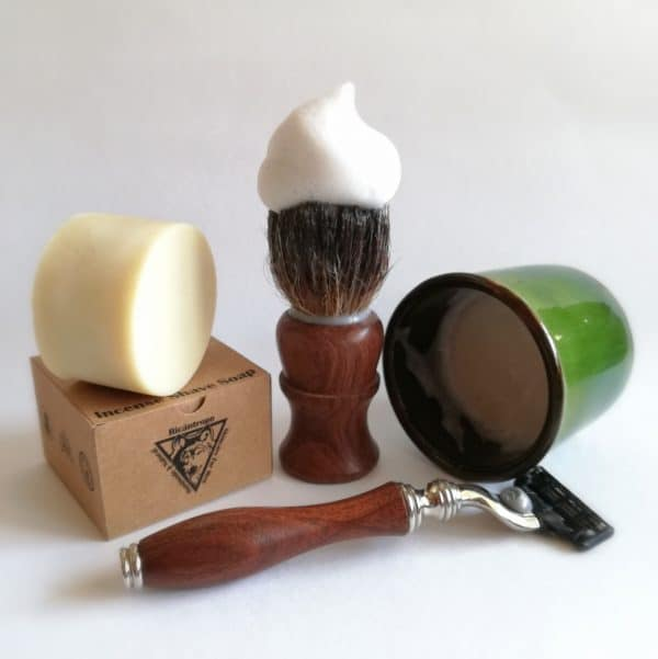 Jabón afeitar natural