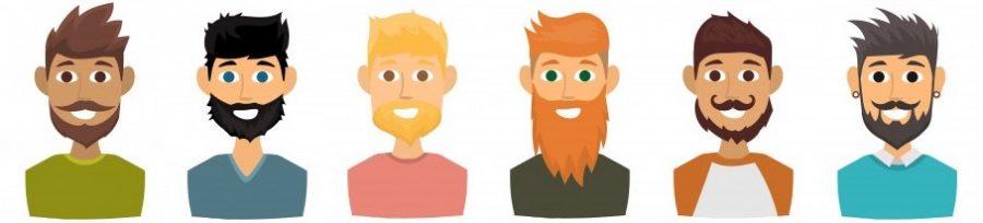 Cuidar barba corta, larga, negra, blanca o con canas
