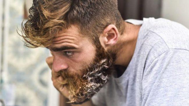 lavar barba todos días a diario