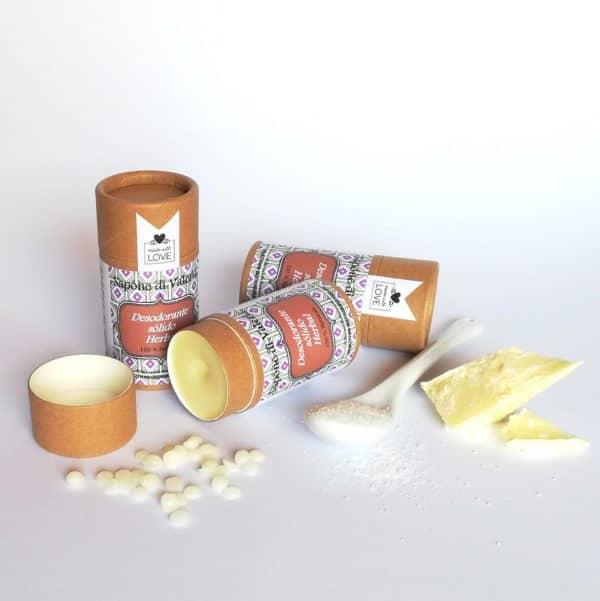Desodorante solido casero receeta